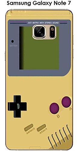 Onozo cover samsung galaxy note 7design game boy custard