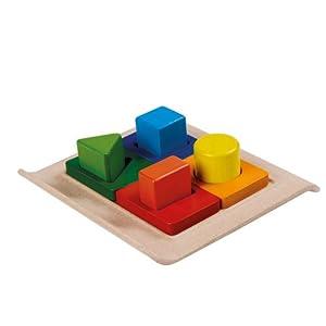 Plan Toys Shape Sorter Juguete de Habilidad motora - Juguetes de Habilidades motoras, Madera, Niño, Niño/niña, 2 año(s)
