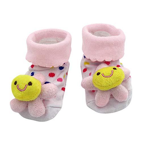ODRD Unisex Kinder Schuhe Cartoon Neugeborenen Babys Jungen Anti-Slip Socken Slipper Schuhe Stiefel Children Shoes Turnschuhe Sportschuhe Hallenschuhe Kinderschuhe Sneaker Bequeme