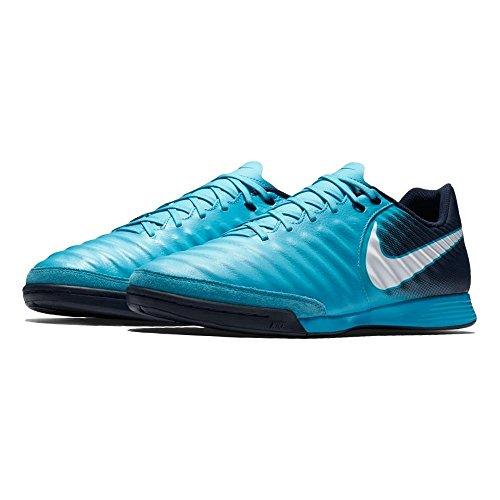 Nike Herren Tiempox Ligera IV IC Fußballschuhe Türkis (Bleu Gamma/obsidienne/bleu Bleu Glacier/blanc 414)