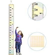 medidor niños pared ZoomSky para medidor niño de estatura de medidor pared infantil de gráfica de