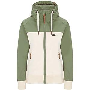 alife & kickin Damen Jacke Malia Jacket Übergangsjacke Windbreaker Kapuze 2 Color Design Block vegan hergestellt XS-XL