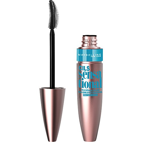 Maybelline New York Mascara Cils Sensational Noir Waterproof
