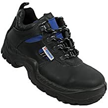Berner s3 Berufsschuhe Businessschuhe Chaussures de Chaussures de Sécurité Chaussures de Travail Noir - Noir - Noir, Taille 37 EU