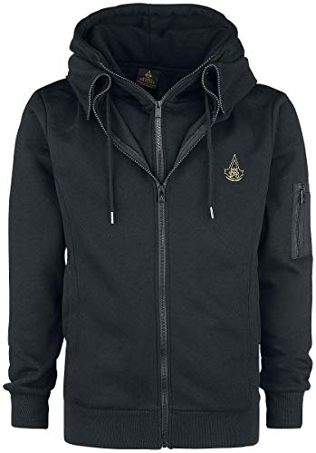 Assassin's Creed Origins – Symbol Kapuzenjacke schwarz XXL - 3