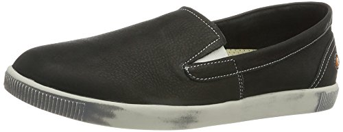 Softinos Tad374sof, Mocassins Homme Schwarz (Black)