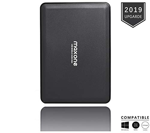 Externe Festplatte tragbare 320GB-2,5Zoll USB 3.0 Backups HDD Tragbare für TV,PC,Mac,MacBook, Chromebook, Xbox One, Wii u,PS4, Laptop,Desktop,Windows(Schwarz) -