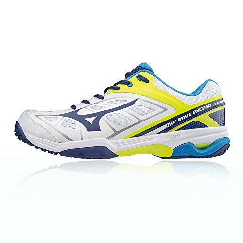 Hombre Wave Intense Tour AC Zapatillas de Tenis Multicolor Size: 44 EU Mizuno p7Yy2