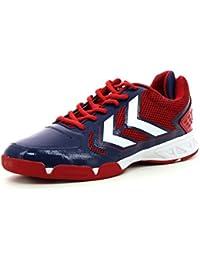 HUMMEL Celestial X7 - Zapatillas de deporte, color azul y rojo, color - azul, tamaño 42,5