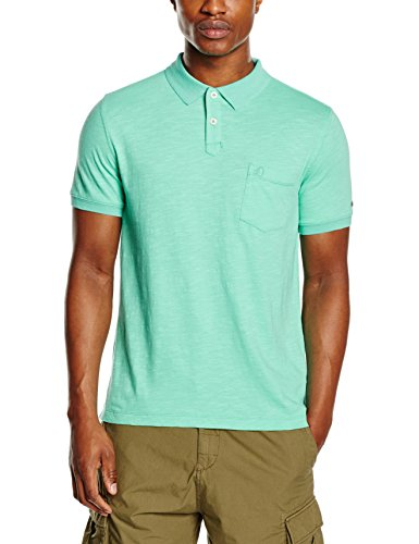 huge discount c0f6a a4abb sOliver Herren Poloshirt Türkis pale turquoise 6610 -protec ...