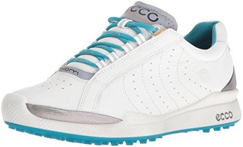 Ecco Damen Womens Biom Golf Hybrid Golfschuhe, Weiß (59581WHITE/Capri Breeze), 39 EU