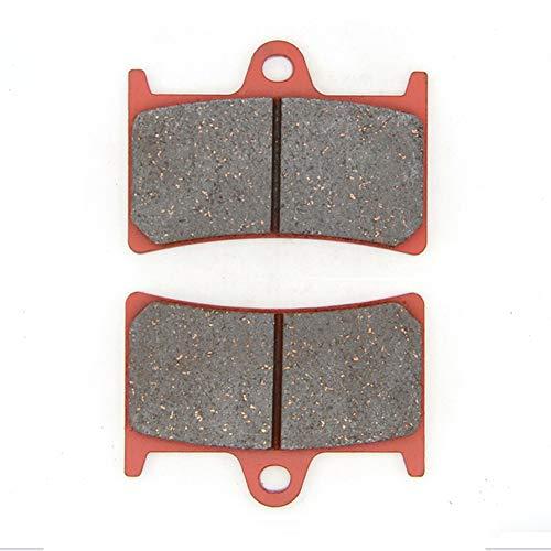 MEXITAL Pastiglie freno Ceramica organico Anteriori per FZ6 Fazer (07-09)/Fazer 8 FZ8 FZ8-S/SA/FZ8 N/NA (11-15)/YZF R6 (05-16)/MT-10 Tourer Edition SP MTN 1000 /XSR 900 (MTM 850)(16-18)