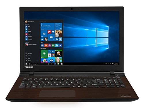 Toshiba Satellite L50-C-271 39,6 cm (15,6 Zoll Full HD) Laptop (Intel Core i7 6500U, 8GB RAM, 1TB HDD, 128GB SSD, NVIDIA GeForce 930M, DVD, Win 10) braun