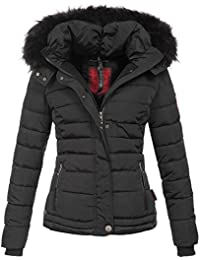 ... Bekleidung   Golden Brands Selection. Navahoo warme Damen Winter Jacke  Parka Mantel Stepp Kurzjacke gefüttert B301 adf82a1cae
