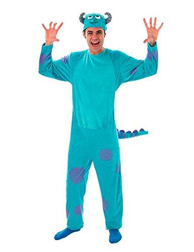 Die Monster Uni Sulley Kostüm Lizenzware blau lila (Sulley Erwachsene Kostüme)