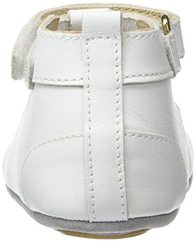 Robeez Baby Mädchen Mini Toe Krabbelschuhe Weiß (Weiß)
