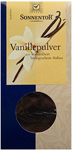 Sonnentor Vanillepulver, 1er Pack (1 x 10 g) - Bio (Vanille Blüte)
