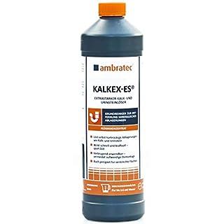 Ambratec Kalkex ES Konzentrat Extrastarker Entkalker Urinsteinlöser Kalk Entferner 1 Liter Konzentrat Ölfleckentferner