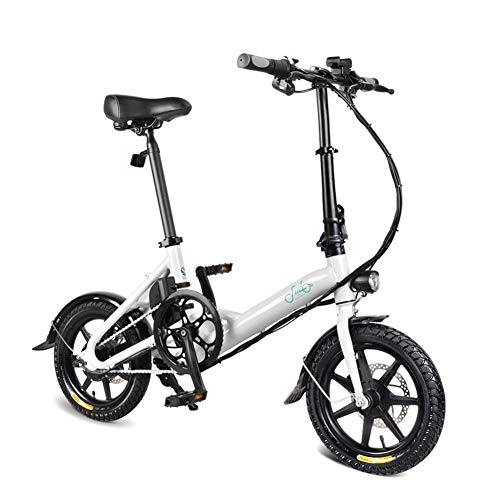 Acutty 1 PCS Electric Folding Bike Foldable Bicycle Double Disc Brake Portable for Cycling