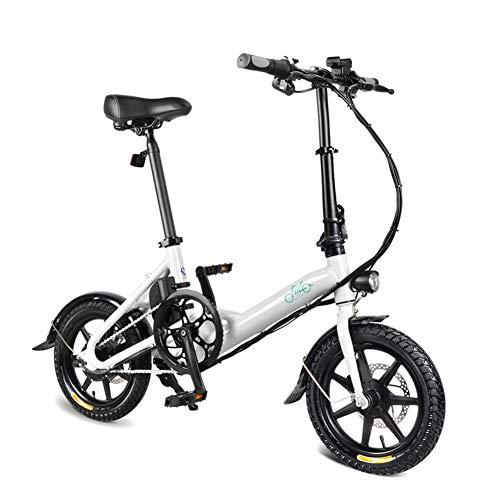 Acutty 1 PCS Electric Folding Bike Foldable Bicycle Double Disc...