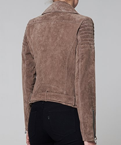 Goosecraft Perfecto106, Blouson Femme Braun (taupe TAUPE)