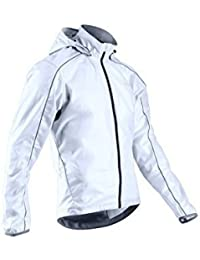 Sugoi Men's Hydrolite Jacket, White/Black, Small by SUGOi