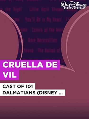 "Cruella De Vil im Stil von ""Cast of 101 Dalmatians (Disney Original)"""