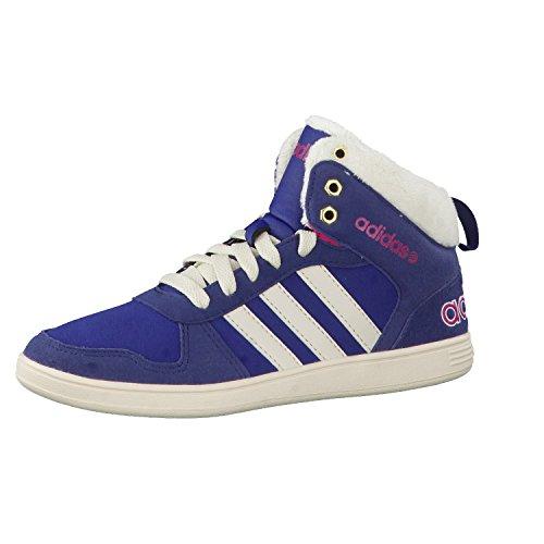adidas Neo gefütterte Kinderschuhe Sneaker Winterschuhe Boots HOOPS WTR MID K , Größe:29 (High Laufschuhe Tops Nike)