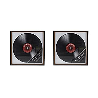 Ardisle 2 X Vinyl Record Frame Retro LP Album Cover Frame Wall Display 12