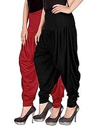 NV Trendz Women's Well Designed Lycra Dhoti Pant Patiyala Dhoti Pant Salwar Pant Harem Pant For Women And Ladies... - B079MB18C7