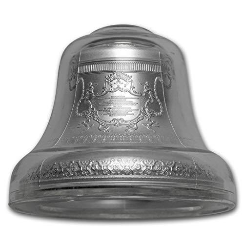Chewies Collection Nation of Niue Tsar Bell Kolokol Proof 4 Troy Unzen .999 Silber 1 Stück 999 (Mint Bell)