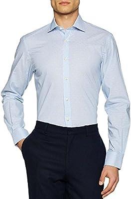 El Ganso Cuello Italiano Slim Fit  Camisa Casual,  para Hombre