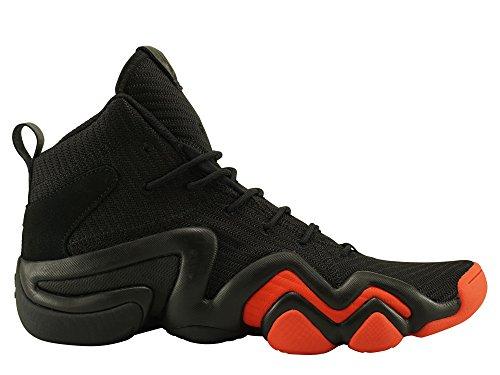 Adidas Crazy 8 Schuhe (adidas Herren Crazy 8 ADV CK Gymnastikschuhe, Schwarz (Core Black/Hi-RES Red S18/Ftwr White), 42 2/3 EU)