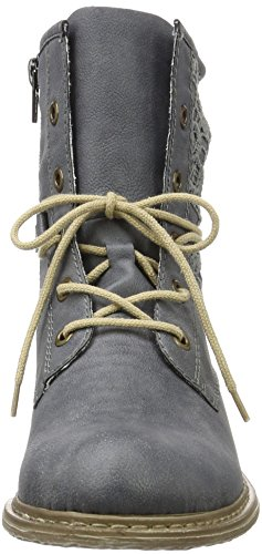 Rieker Z2118, Stivaletti Donna Blu (jeans/denim / 14)