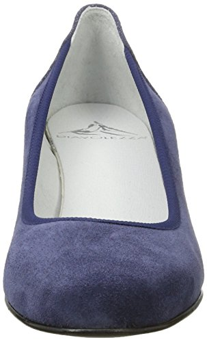 Diavolezza Damen Contessa Pumps Blau (Blue)