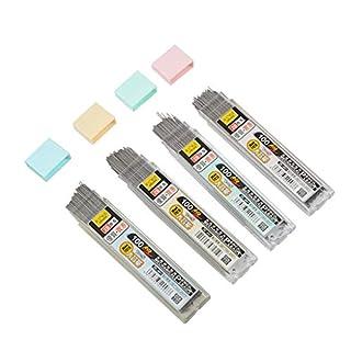 Dabixx 100Pieces / Box Graphitmine 2B Druckbleistiftmine Kunststoff Automatische Bleistiftmine - 0.5mm