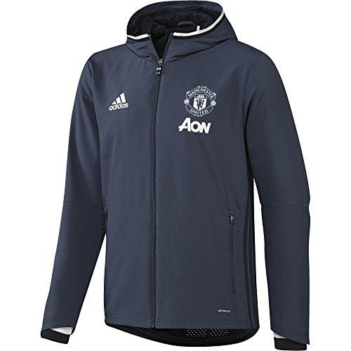 adidas MUFC Pre JKT-Sweatshirt-Manchester United FC für Herren XL Azul/Blanco (Azumin/Maruni/Blatiz) - United Pullover Manchester