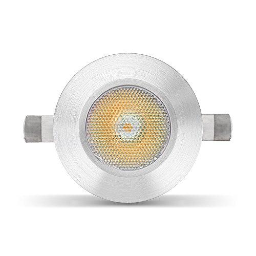 LED Mini Einbaustrahler inkl. Trafo 230V 2W 3000k warmweiß Minispot Spot Ra90