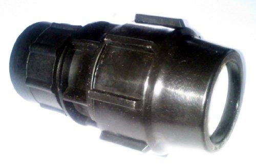 inscale IBC Adaptateur pour 50 mm Raccord à compression pour tuyau irrigation mdpe 50 mm