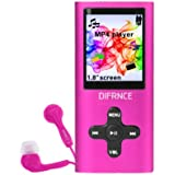 Difrnce MP1851 Lecteur MP3 Rose