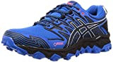 Asics Gel-Fujitrabuco 7 G-TX, Zapatillas de Running para Hombre, Azul (Electric Blue/Black 400), 43.5 EU