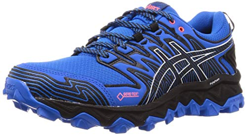 Asics Gel-Fujitrabuco 7 G-TX, Zapatillas de Running para Hombre, Azul (Electric Blue/Black 400), 44 EU