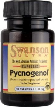 Swanson Ultra Pycnogenol 100mg, 30 Capsules (French Marine Pine Bark Extract)