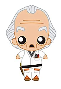 Dirac Doc Brown Pokis Figure Back To The Future Official Merchandising Muñecas (1)