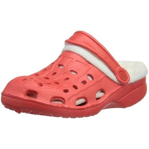 Playshoes EVA-Clog mit Warmfutter von Playshoes 171728 - Zuecos de caucho para niños