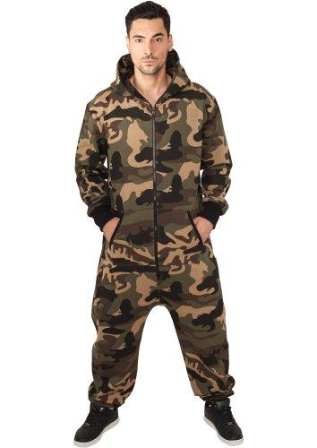 URBAN CLASSICS Camo Jumpsuit - (wood Camo) - tuta wood camo M/L