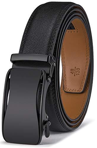 9a8b37d8b BULLIANT Hombre Cinturón-Cuero Automática Cinturón De Hombre 35MM-Tamaño  Ajuste (150cm/