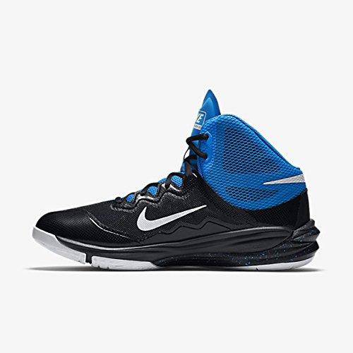 Nike Prime Hype Df Ii, Chaussures De Basketball Homme Noir / Blanc / Bleu (noir / Blanc-photo Bleu-bl Lgn)