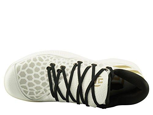 adidas Herren Harden B/E Basketballschuhe Weiß (Ftwwht/Cblack Ftwwht/Cblack/Ftwwht)