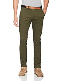 SELECTED HOMME Herren Hose Shhyard Forest Night Slim St Pants Noos